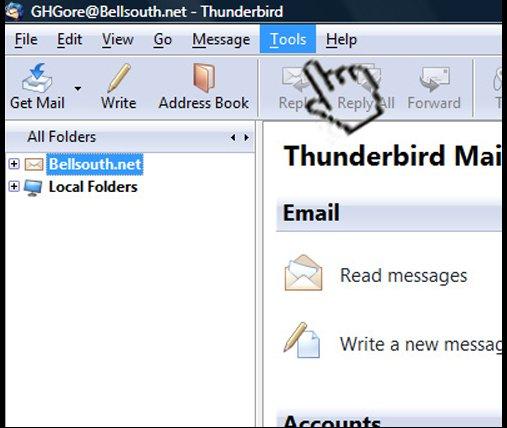 Как сделать подпись в thunderbird картинкой